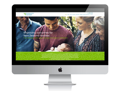 Website for NZ Familial Gastrointestinal Cancer Service