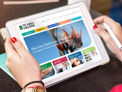 Website for northland healthcare provider Te Hiku Hauora