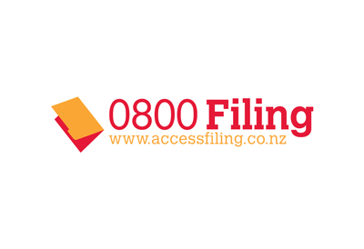 Logo for office filing supplies company Access Filing