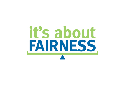 Logo for Mental Health Foundation's All About Fairness Initiative