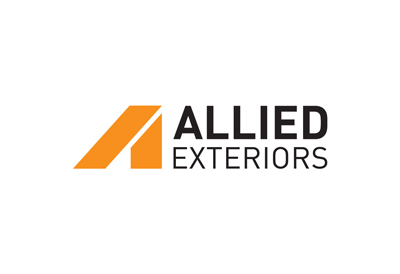 Logo design for building recladding specialist Allied Exteriors