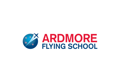 Logo for aviation school Ardmore Flying School