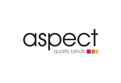 Logo design for window coverings company Aspect Blinds