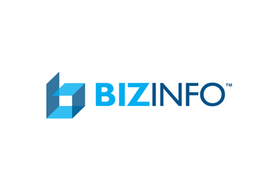 Logo for ERp software developer Bizinfo