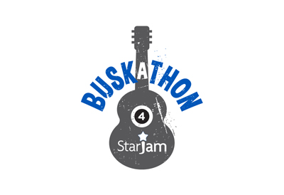 logo for busking event organised by Starjam