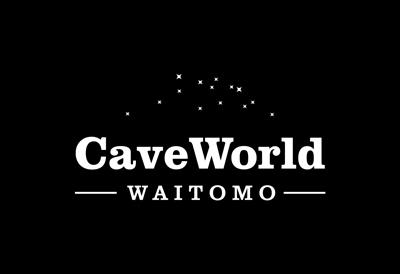 Logo design for Waitomo caves tourism company CaveWorld