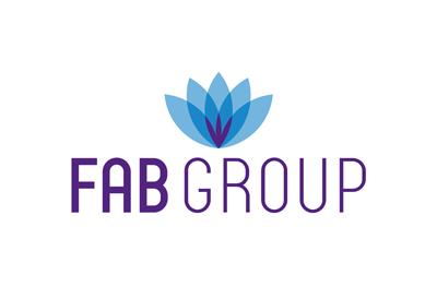 Logo for beauty brands head franchisor FAB group