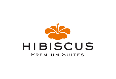 Logo for luxury retirement village Hibiscus Suites