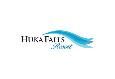 Logo for residential development Huka Falls Resort