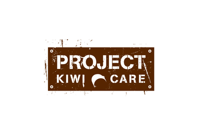 Logo for conservation initiative Project Kiwi Care