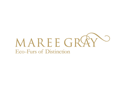 Logo for eco fur fashion label Maree Gray