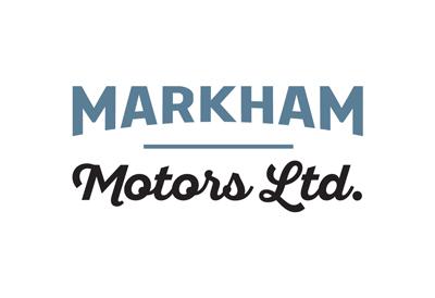 Logo for vehicle importer reseller Markham Motors