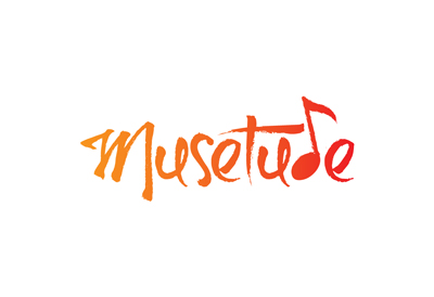 logo for Musetude unleashing creativity