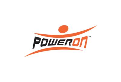 Poweron fitness brand logo