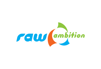 Logo design for global yacht race raw ambition