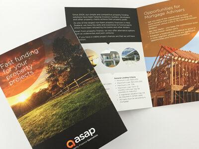 ASAP Finance brochure