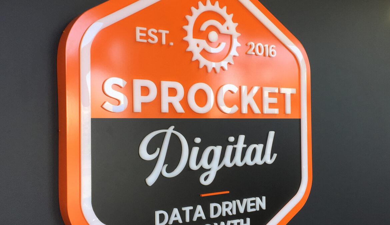 Sprocket Digital office signage