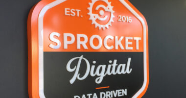 Sprocket Digital office signage