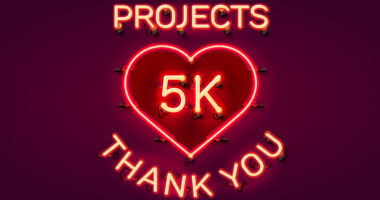 RedSpark completes 5000 projects