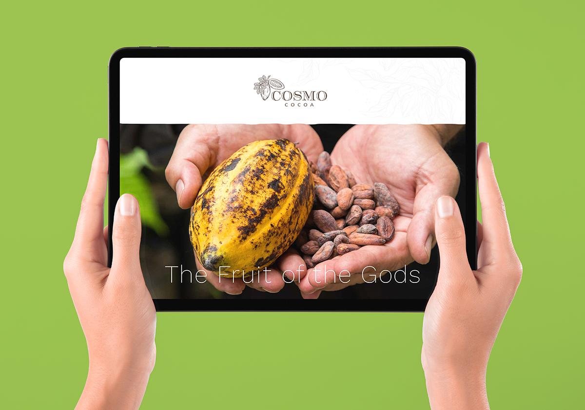 Cosmo Cocoa website